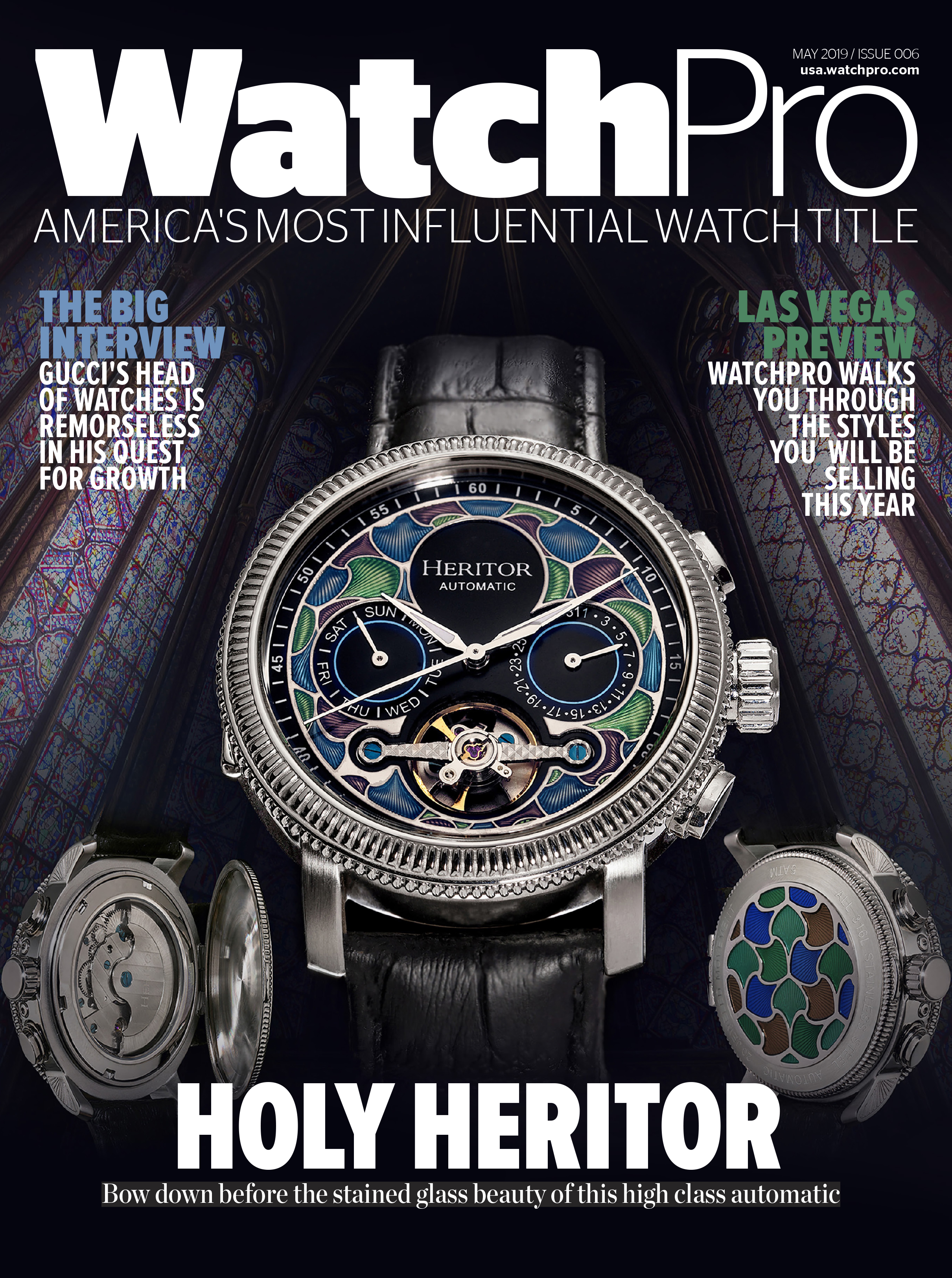 Watch Pro May 2019 Edition - Heritor Aura Mens Watch