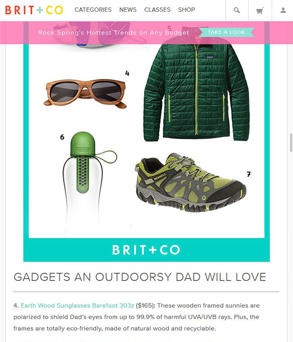 BRIT+CO - Gadgets an outdoorsy dad will love