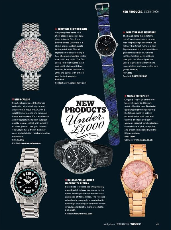 WatchPro February 2016 Edition - Reign Caruso Mens Watch
