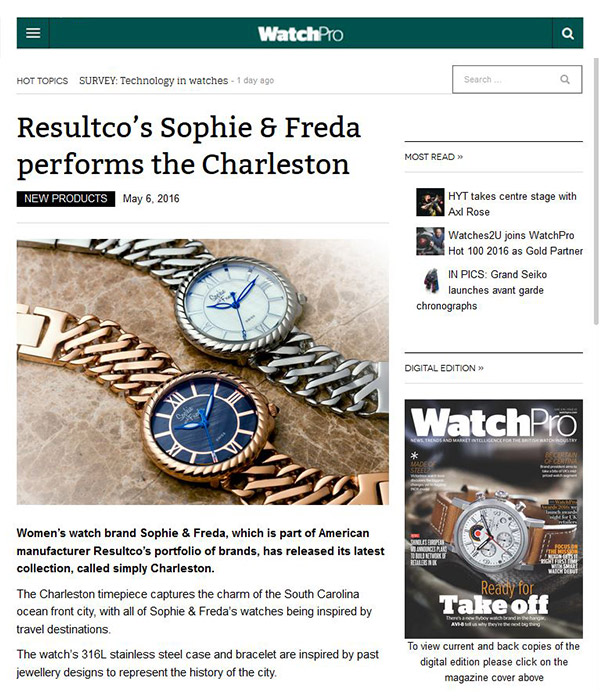 WatchPro - Resultco's Sophie & Freda performs the Charleston